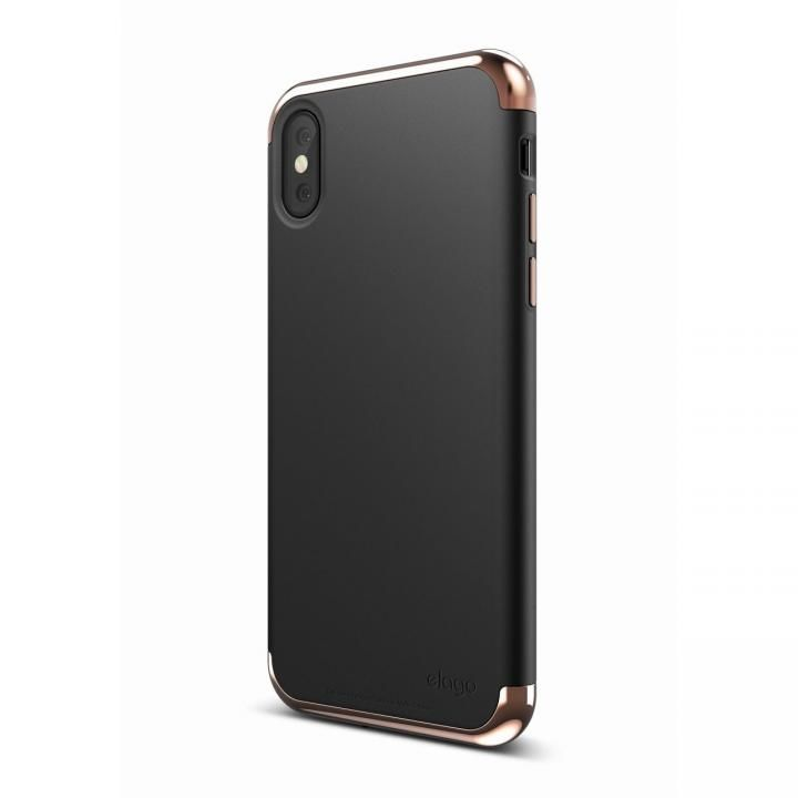 elago S8 EMPIRE ローズゴールド/ブラック iPhone X
