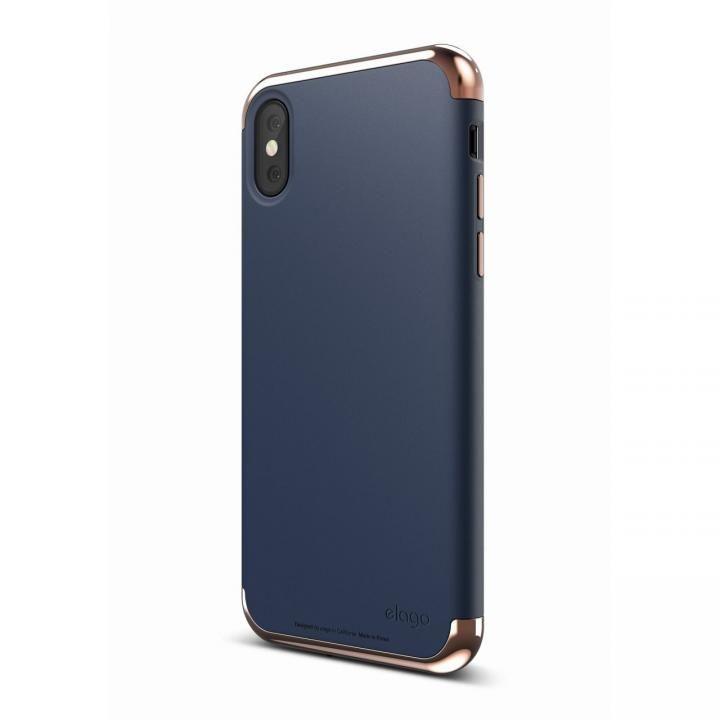 iPhone X ケース elago S8 EMPIRE ローズゴールド/ジーンインディゴ iPhone X_0
