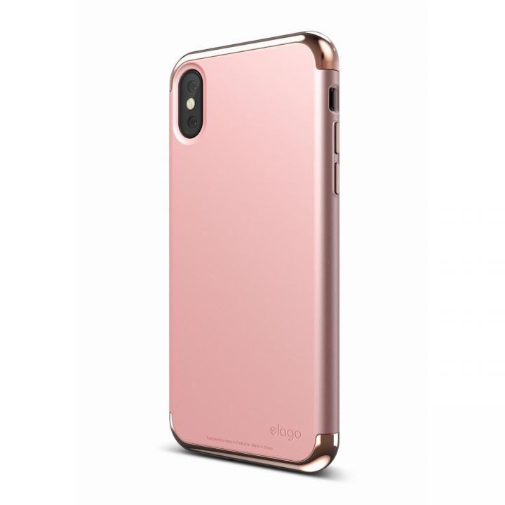 iPhone X ケース elago S8 EMPIRE ローズゴールド/ローズゴールド iPhone X_0