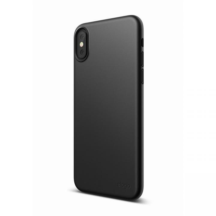 elago S8 INNER CORE 超薄型ケース ブラック iPhone X