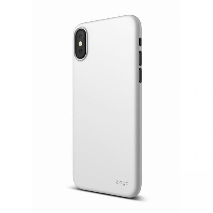 iPhone XS/X ケース elago S8 INNER CORE 超薄型ケース ホワイト iPhone XS/X_0