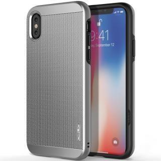 OBLIQ Slim Meta 耐衝撃ケース ダークシルバー iPhone XS/X