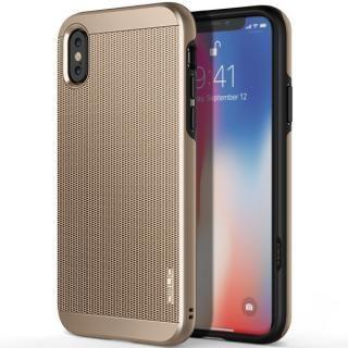 OBLIQ Slim Meta 耐衝撃ケース シャンパンゴールド iPhone XS/X