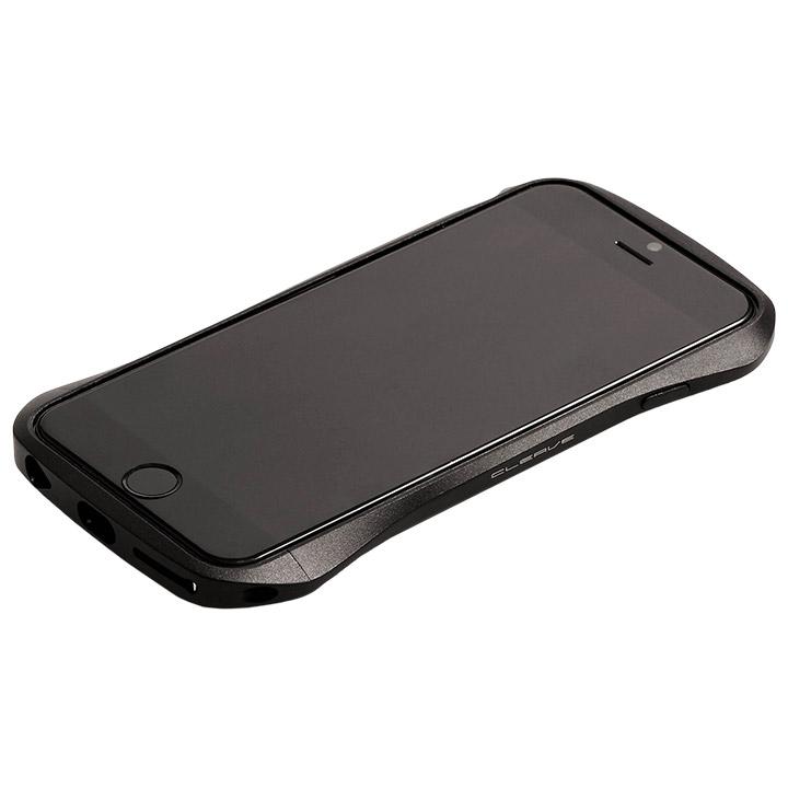 アルミニウムバンパー Cleave ブラック iPhone 6s/6バンパー