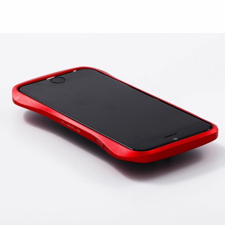 【iPhone6ケース】アルミニウムバンパー Cleave レッド iPhone 6バンパー_0