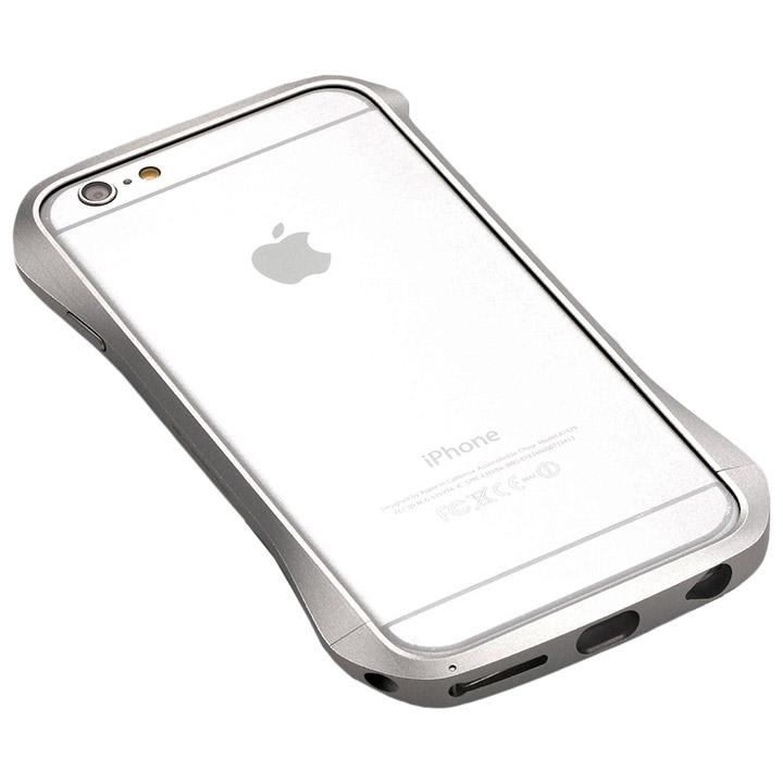 【iPhone6s/6ケース】アルミニウムバンパー Cleave シルバー iPhone 6s/6バンパー_0