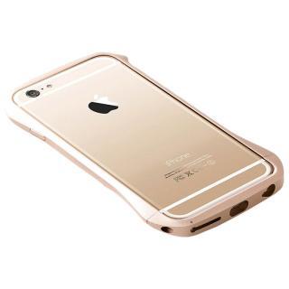【10月下旬】アルミニウムバンパー Cleave ゴールド iPhone 6バンパー