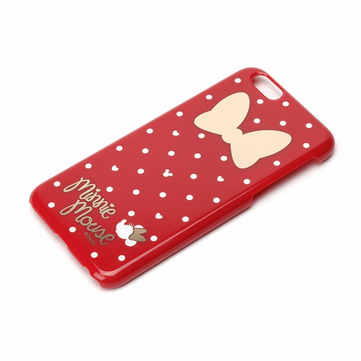 iPhone6 ケース ハードケース ディズニー ミニーマウスドット柄 iPhone 6ケース_0