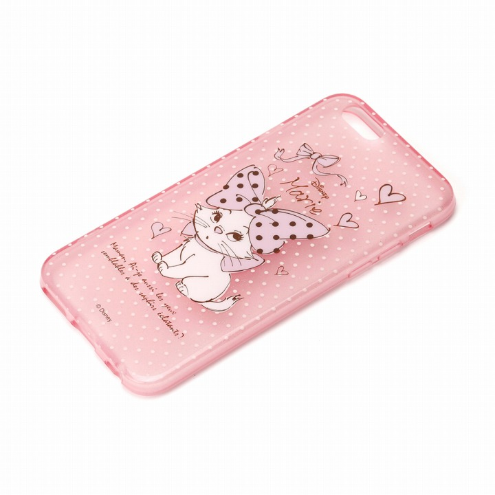 【iPhone6ケース】セミハードケース マリー (ラメ入り半透明) iPhone 6ケース_0