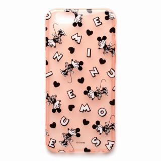 セミハードケース ミニーマウス (ラメ入り半透明) iPhone 6s/6ケース