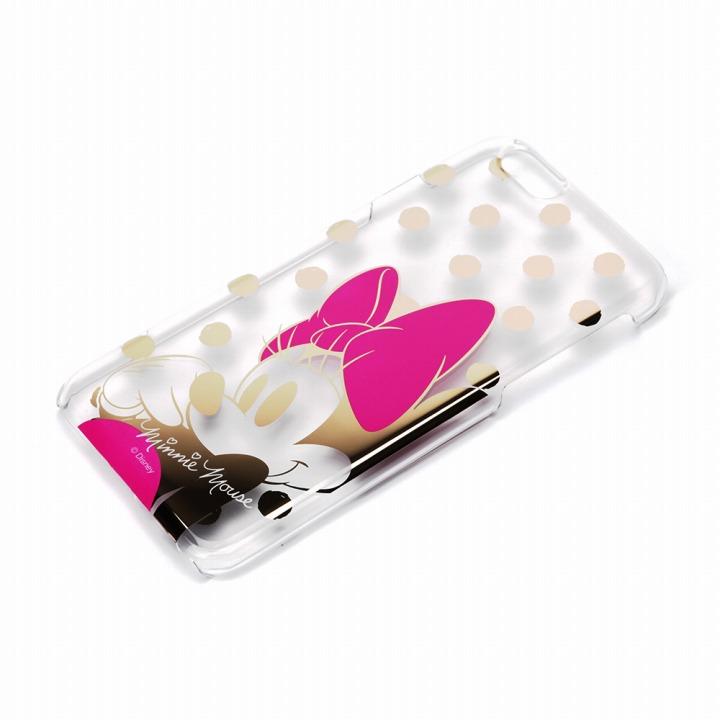 【iPhone6ケース】金箔押しクリアハードケース ミニーマウス iPhone 6ケース_0