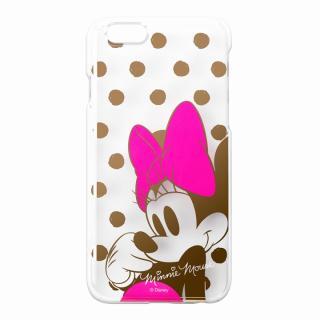【iPhone6ケース】金箔押しクリアハードケース ミニーマウス iPhone 6ケース_1