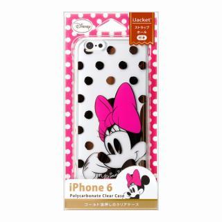 【iPhone6ケース】金箔押しクリアハードケース ミニーマウス iPhone 6ケース_2