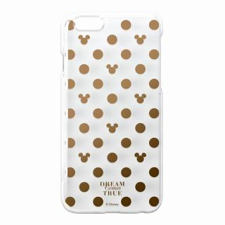【iPhone6ケース】金箔押しクリアハードケース ミッキーパターン iPhone 6ケース_1