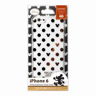 【iPhone6ケース】金箔押しクリアハードケース ミッキーパターン iPhone 6ケース_2