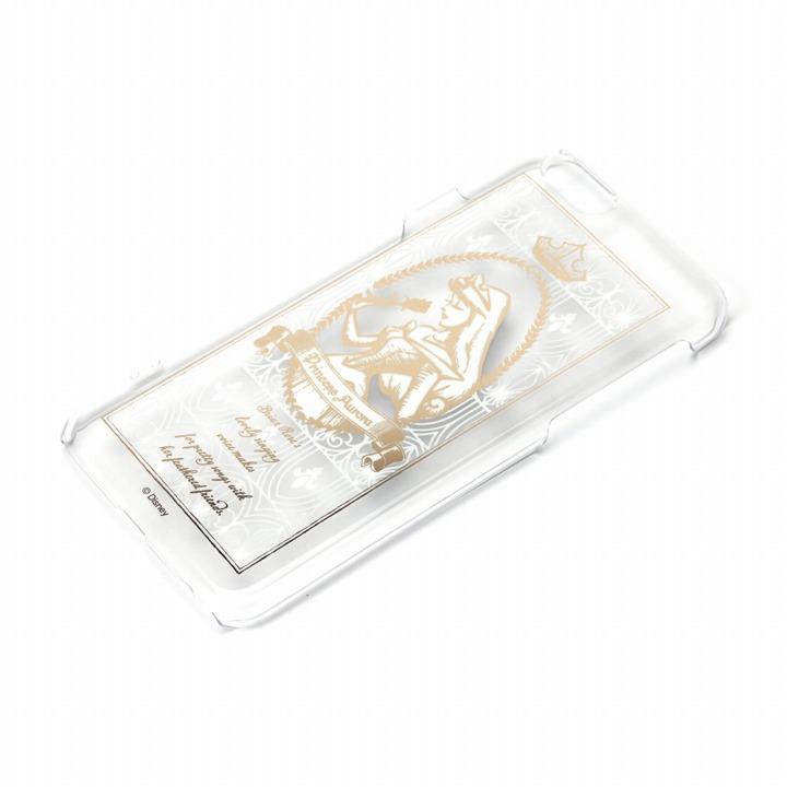 iPhone6 ケース 金箔押しクリアハードケース オーロラ姫 iPhone 6ケース_0