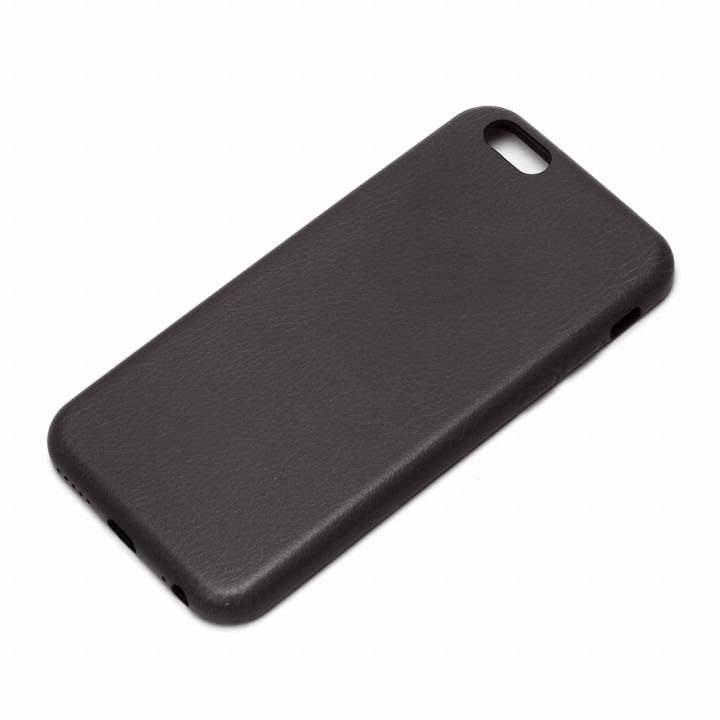iPhone6 ケース PUレザーケース ブラック iPhone 6ケース_0