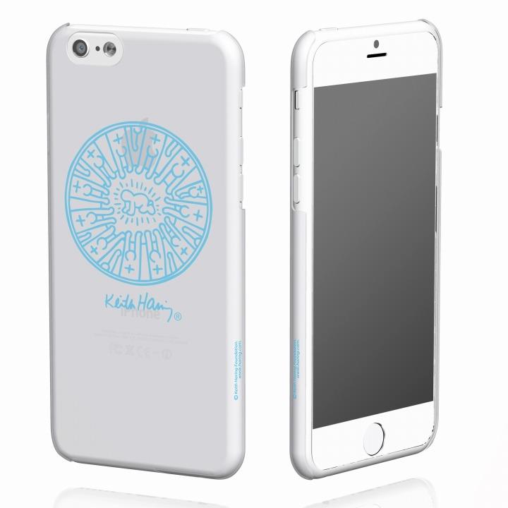 【iPhone6ケース】キース・へリング コレクション ハードクリアケース レディエント ベビィ/クリア x ブルー iPhone 6ケース_0