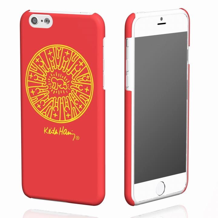 キース・へリング コレクション ハードケース レディエント ベビィ/レッド x イエロー iPhone 6ケース