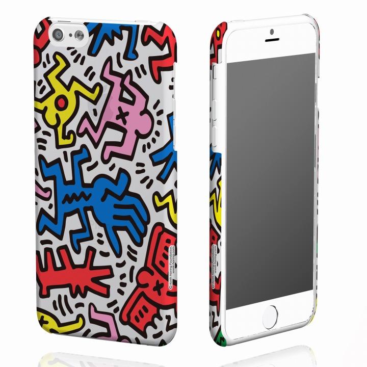 【iPhone6ケース】キース・へリング コレクション ハードクリアケース カオス/クリア iPhone 6ケース_0
