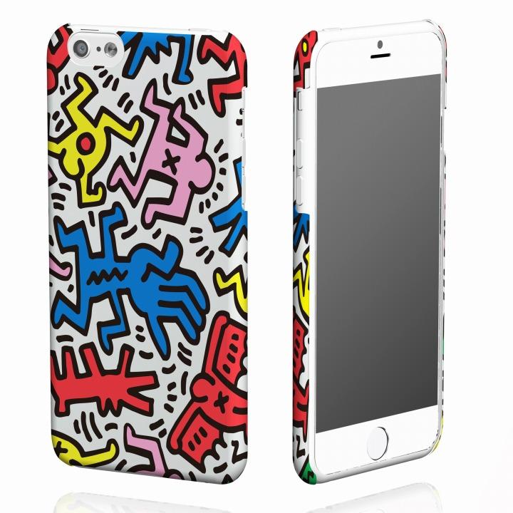 【iPhone6ケース】キース・へリング コレクション ハードケース カオス iPhone 6ケース_0