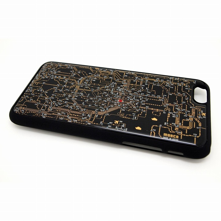 東京回路線図 黒 iPhone 6ケース