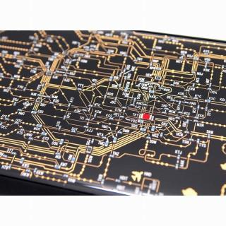 【iPhone6ケース】東京回路線図 黒 iPhone 6ケース_2