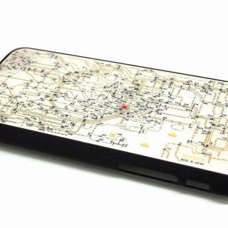 【iPhone6ケース】東京回路線図 白 iPhone 6ケース_1