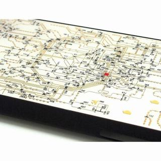 【iPhone6ケース】東京回路線図 白 iPhone 6ケース_2