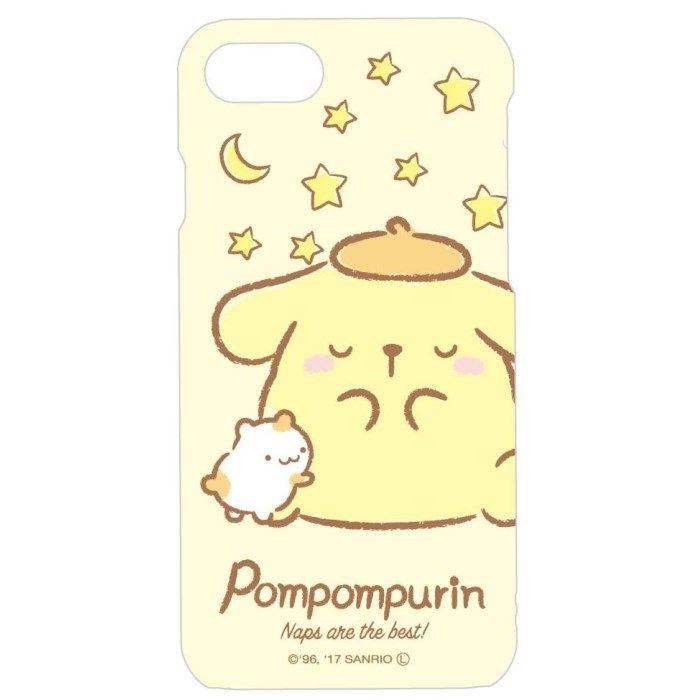 iPhone8/7/6s/6 ケース サンリオキャラクターズ ハードケース ポムポムプリン iPhone 8/7/6s/6_0