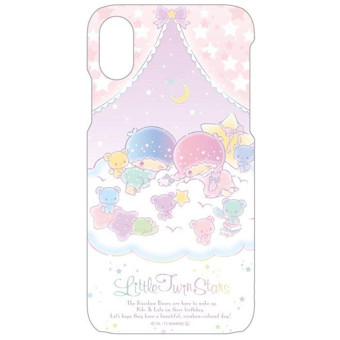 iPhone X ケース サンリオキャラクターズ ハードケース キキ&ララ iPhone X_0