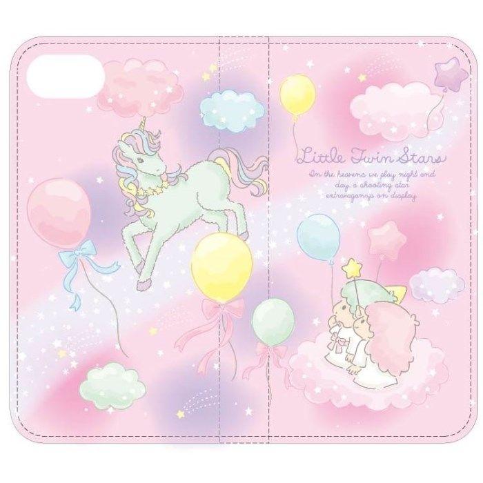 iPhone8/7 ケース サンリオキャラクターズ 手帳型ケース キキ&ララ iPhone 8/7_0