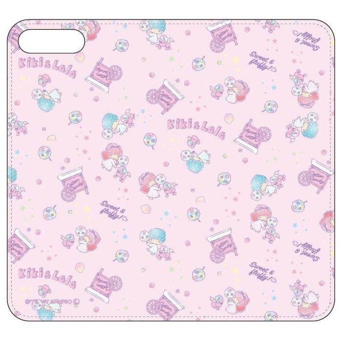 iPhone8 Plus/7 Plus ケース サンリオキャラクターズ 手帳型ケース キキ&ララ iPhone 8 Plus/7 Plus_0