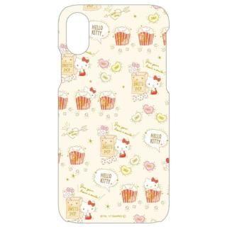 【iPhone Xケース】サンリオキャラクターズ ソフトケース キティ/総柄 iPhone X