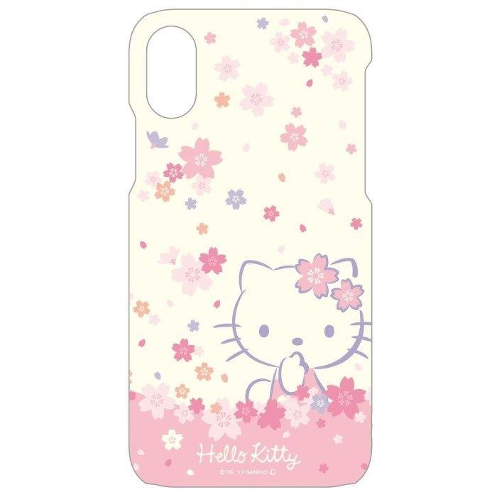 【iPhone Xケース】サンリオキャラクターズ ソフトケース キティ/サクラ iPhone X_0