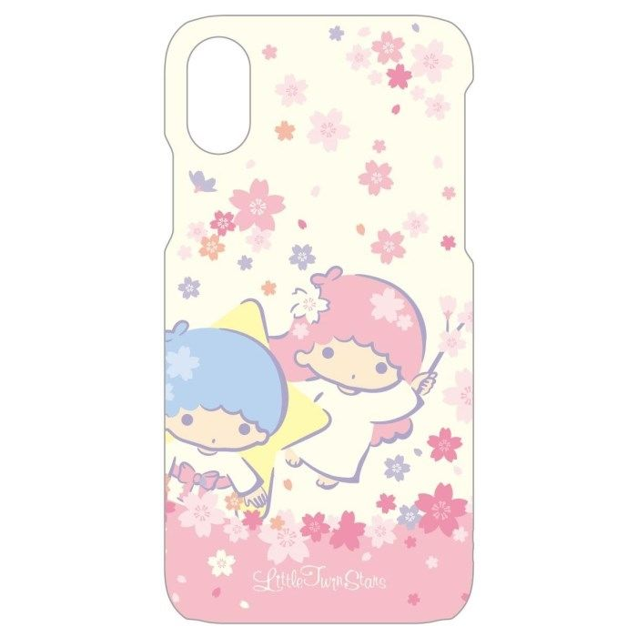 iPhone X ケース サンリオキャラクターズ ソフトケース キキララ/サクラ iPhone X_0