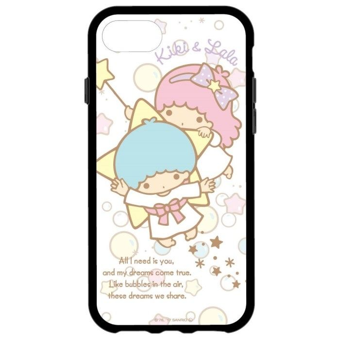 iPhone8/7/6s/6 ケース サンリオキャラクターズ IIII fit キキ&ララ iPhone 8/7/6s/6_0
