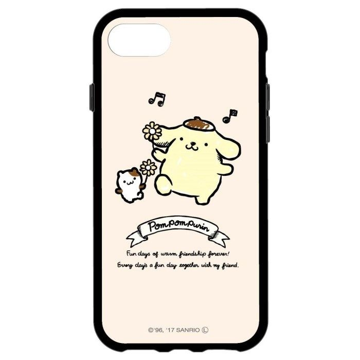 iPhone8/7/6s/6 ケース サンリオキャラクターズ IIII fit ポムポムプリン iPhone 8/7/6s/6_0