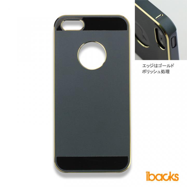 iPhone SE/5s/5 ケース 【iPhone SE/5s/5】ibacks Essence / ブラック_0