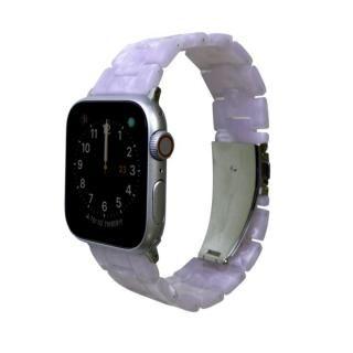 マーブル3連バンド スウィーティ Apple Watch 42/44mm ホワイト