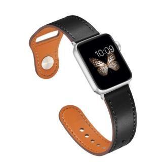 ピンバックル レザー Lite Apple Watch 42/44mm BK-SV