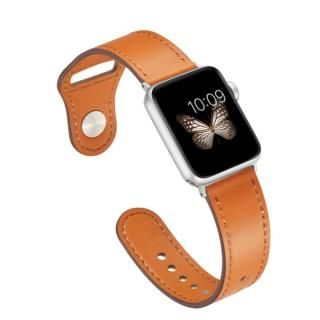 ピンバックル レザー Lite Apple Watch 42/44mm ブラウン