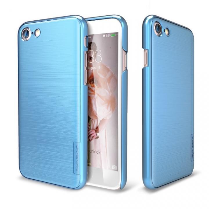 【iPhone7ケース】メタルライン風ハードケース META SLIM ディープブルー iPhone 7_0