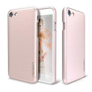 メタルライン風ハードケース META SLIM ローズゴールド iPhone 7