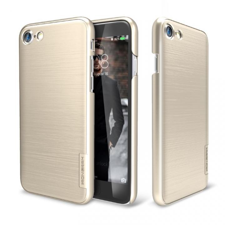 iPhone7 ケース メタルライン風ハードケース META SLIM ゴールド iPhone 7_0