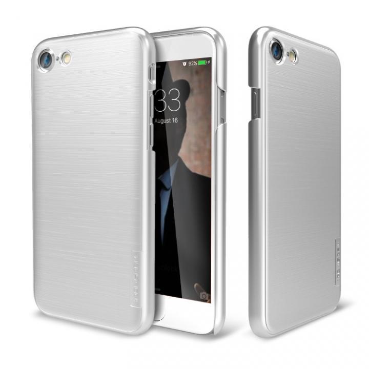 iPhone7 ケース メタルライン風ハードケース META SLIM シルバー iPhone 7_0
