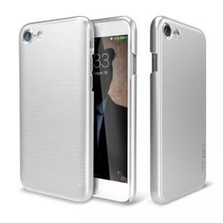 メタルライン風ハードケース META SLIM シルバー iPhone 7