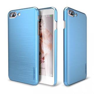 メタルライン風ハードケース META SLIM ディープブルー iPhone 7 Plus