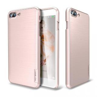 メタルライン風ハードケース META SLIM ローズゴールド iPhone 7 Plus