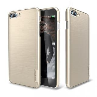 メタルライン風ハードケース META SLIM ゴールド iPhone 7 Plus